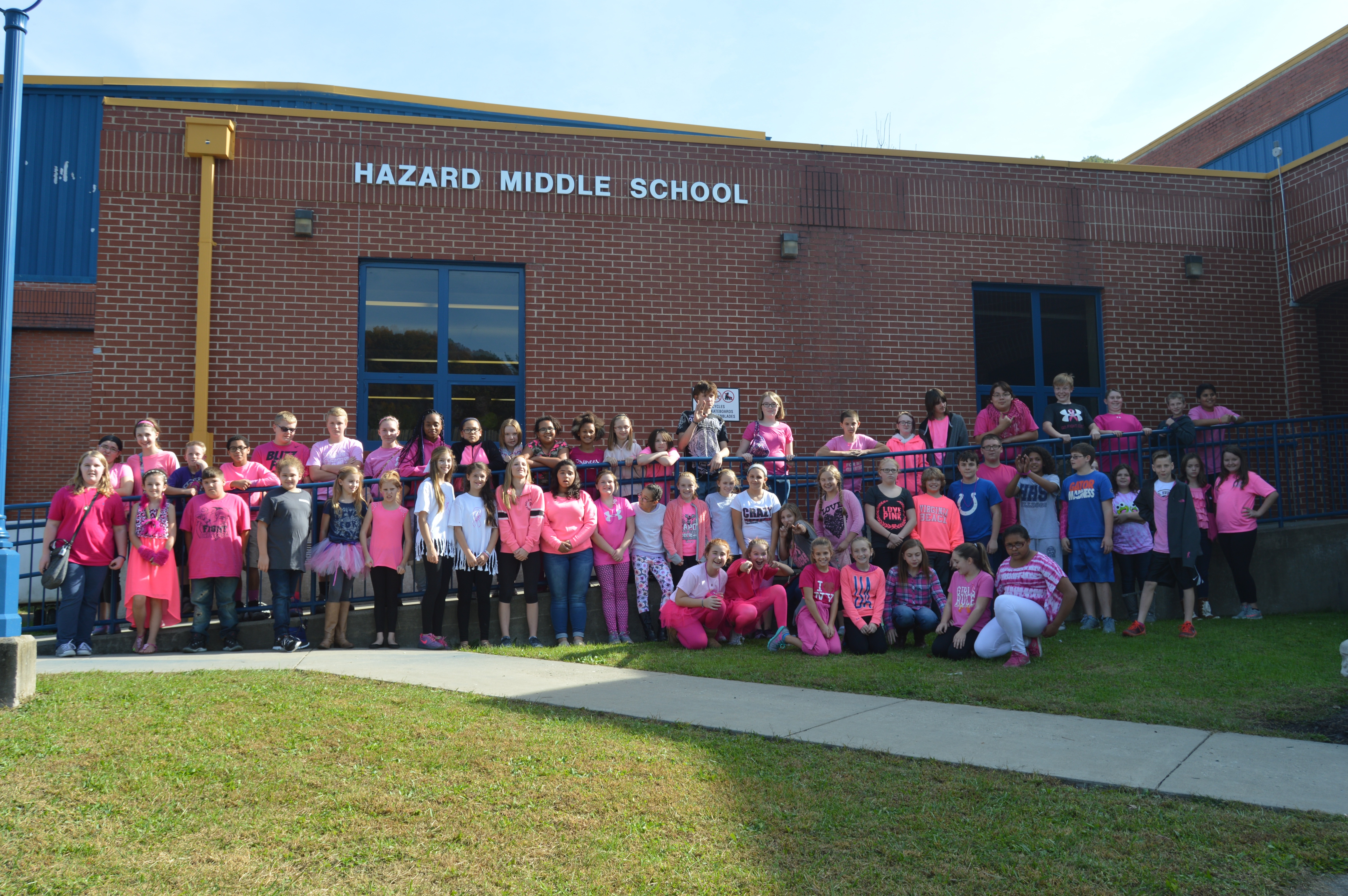 Wear Pink Day & HMS Chours